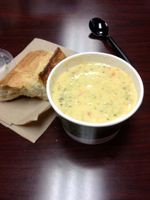 Panera Bread Broccoli Cheese Soup!