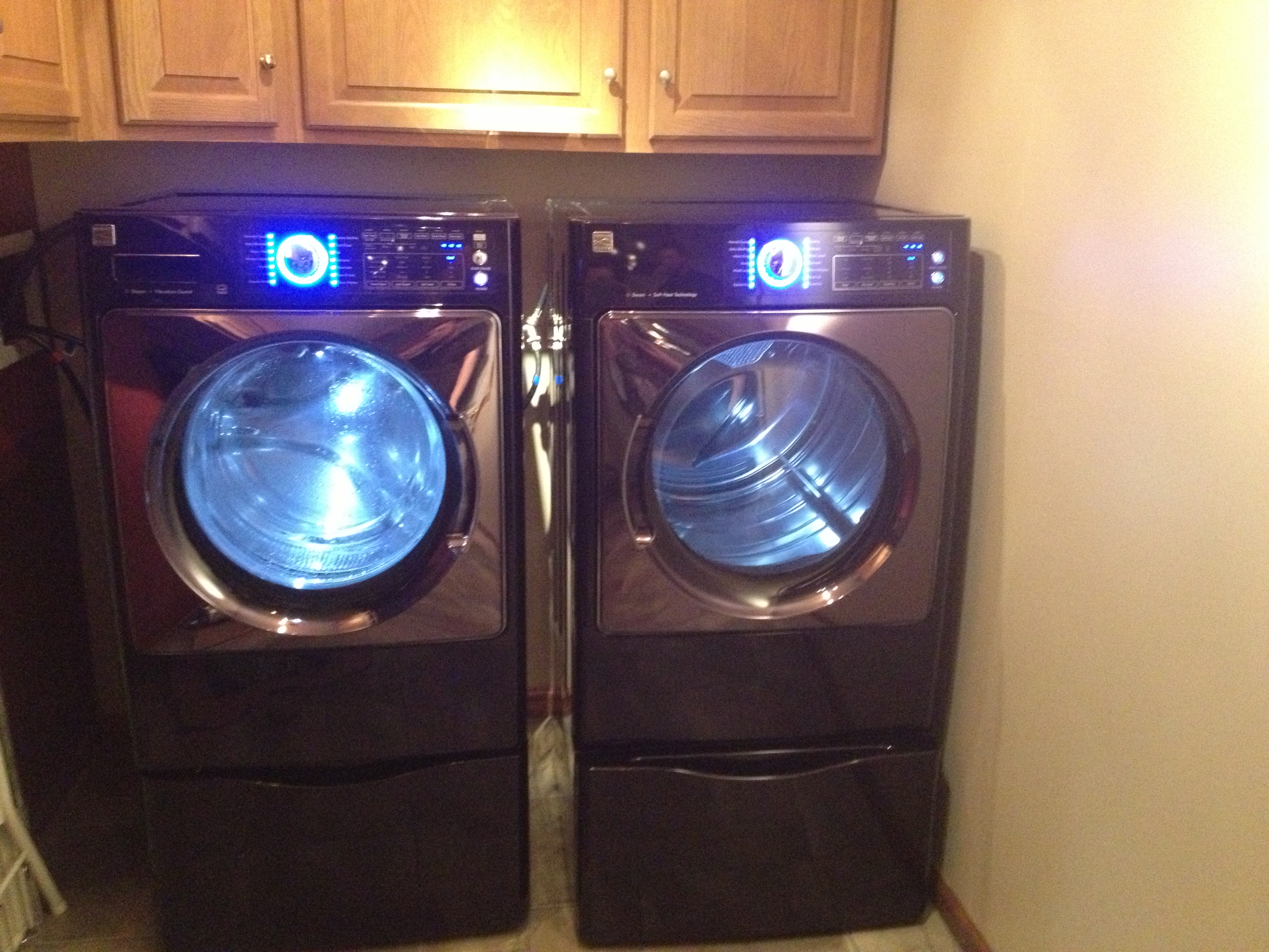 Washers And Dryers Purple Washer And Dryer