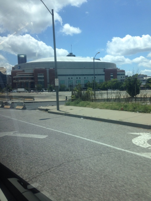 Edward Jones dome where the St. Louis rams play, and where convention is!